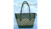 Casual Rattan Handbags