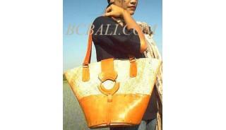 Fashion Leather Rattan