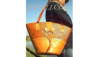 Leather Handbags Pandanus