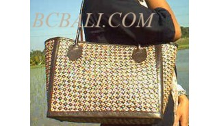Shopping Handbags Leather