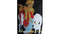 Animal Sarongs Handpainted