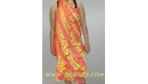 rayon Batik hand stamp beachwear clothes made Indonesia