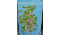 Floral Sarongs Hand Painted