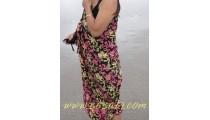 pareo rayon Sarongs batik handmade balinese design flower