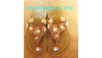 Bali Bead Flower Sandal