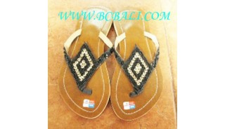 Black Bead Shoes Bali