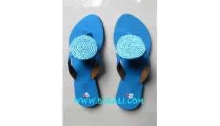 Blue Colored Sandals