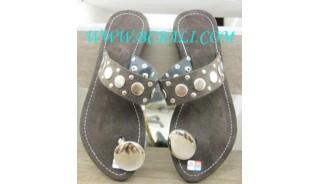 Brown Suede Kelling Sandals