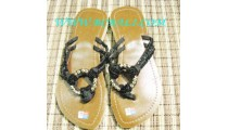 Chic Beaded Sandals
