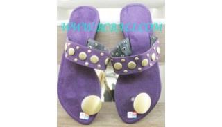 Fancy Suede Kelling Sandals