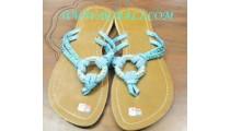 Ladies Bead Bali Footwear