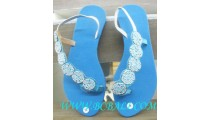 Ladies Bead Footwear