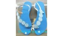Ladies Bead Footwear
