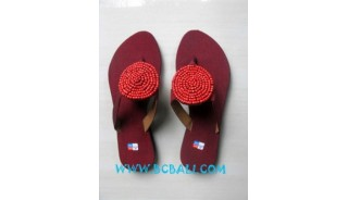 Sandal With Beaded