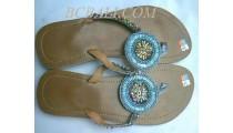 Sandalias Zapatos De Cuentas