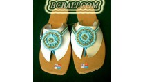 Sandals Shoes Beads