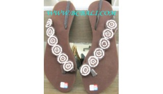 Stylish Bead Sandal