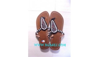 Women Sandals With Beads