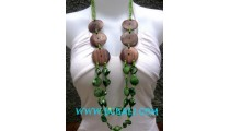 Coco Wood Fashion Necklace
