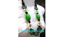 Fashion Necklaces with Bone Glasess