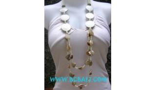 Ladies Fashion Necklaces Beads