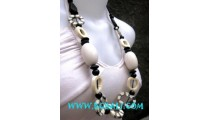 Fashion Necklaces Handmade with Bone