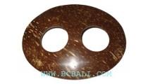 Coconut Shell Bukle Holder