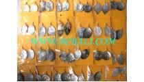 Handmade Earrings Carvings For Fashion
