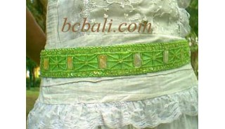 Wide Belt With Shell
