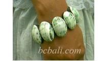 Oval Shell Bracelets