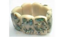 Rezin Shell Bracelet