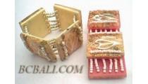 Rezin Square Bracelets