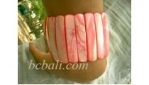 Shell Colour Bracelets