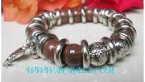 Beads Stone Acrylic Bracelets