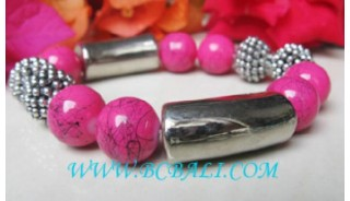 Stone Bracelets Costume Jewelry