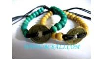 Wooden Beaded Bracelets