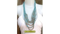 Beads Necklaces Charm Strand for Women