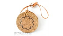 ata rattan hand woven handbags around motif ethnic bali design quality export