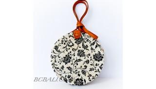 Fashion Special Bali Bags Circle Rattan Sling Bags Deco Handmade