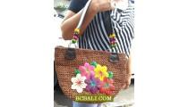 Amazing Design Natural Embroidery Handbags