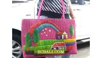 Full Handmade Embroidery Handbags Women