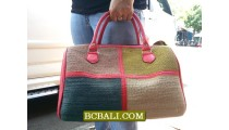 Bali Travel Handbags Straw Material