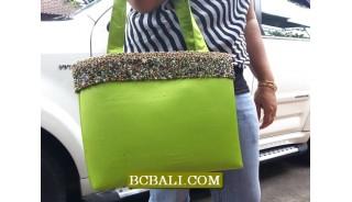 New Fashion Handbags Cotton Beaded Belts