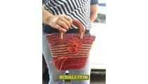 Ladies Straw Handmade Bags Designs Ethnic