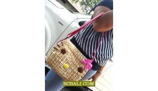 Natural Water Plant Organic Handbags Ladies