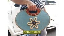 Women Fashion Cotton Flower Bags