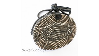 Oval  Ata Rattan Rafia  Bags women style best quality