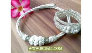 Beads Chokers Necklaces Bracelets Sets