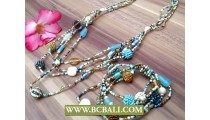Fancy Beads Mix Coloring jewelry Sets Two
