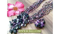 Indonesian Fashion Design Beads Necklace